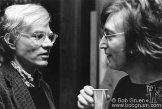 Lennon, John & Warhol, Andy